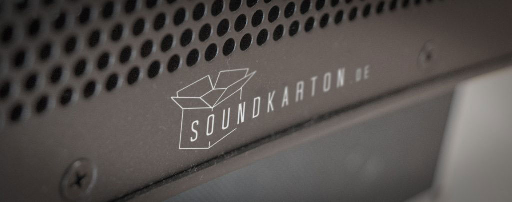 Soundkarton Front